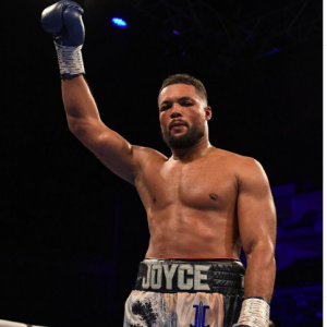 Joe Joyce holds a 12-0 record and wants a bout against Oleksandr Usyk next.