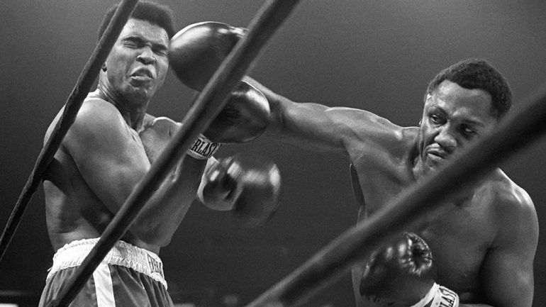 Iconic Joe Frazier-Muhammad Ali 50th anniversary special from Ring Magazine