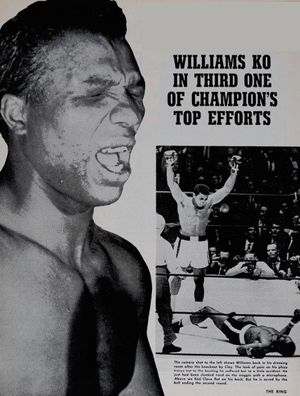 From the Archive: Muhammad Ali showed sock as well as science against Cleveland Williams