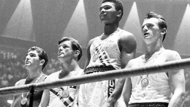 Paved With Gold The road to Frazier-Ali started with two Olympic champions
