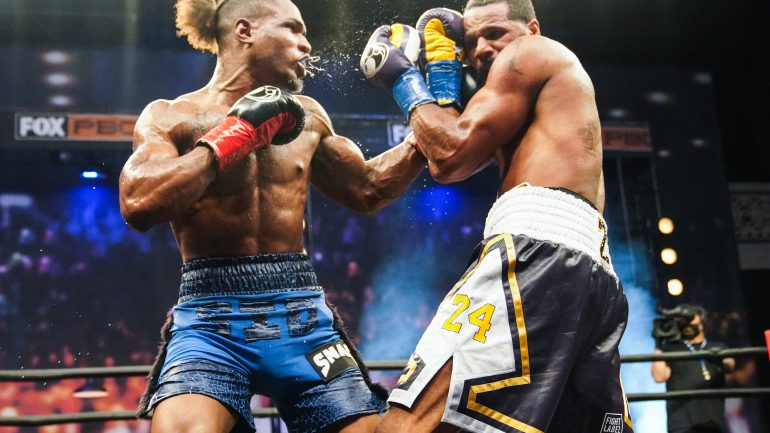 Anthony Dirrell and Kyrone Davis finish in a split draw