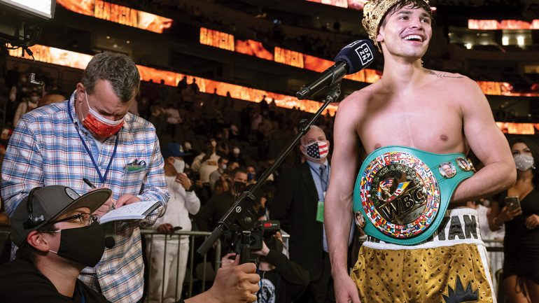 WBC orders Ryan Garcia vs. Javier Fortuna for interim lightweight title defense