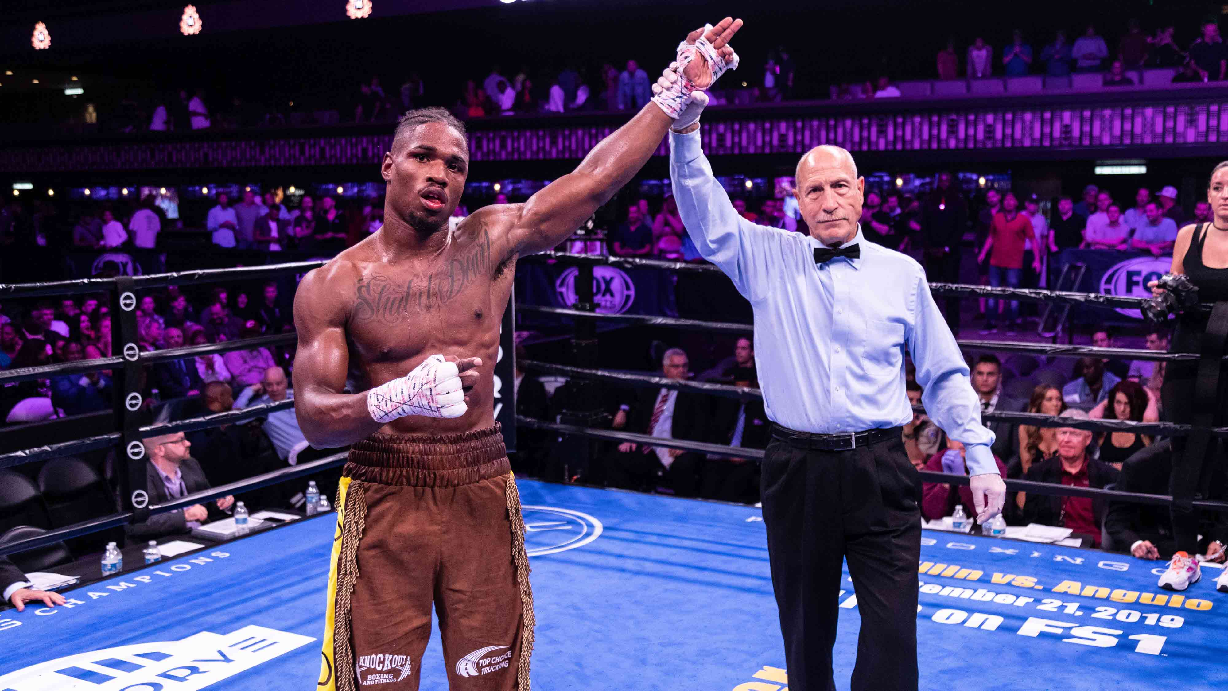 Kyrone Davis. Photo courtesy of Premier Boxing Champions