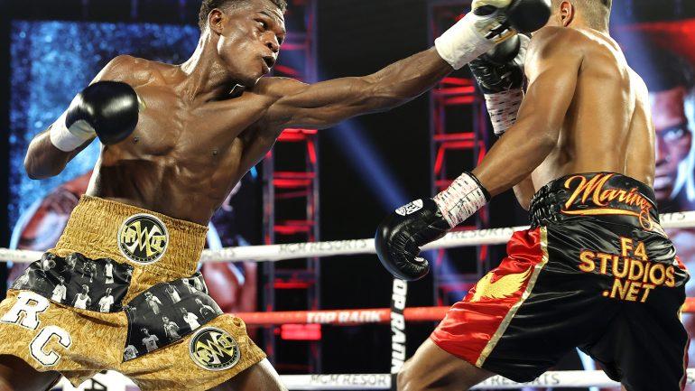 Richard Commey bounces back with sixth round knockout of Jackson Marinez