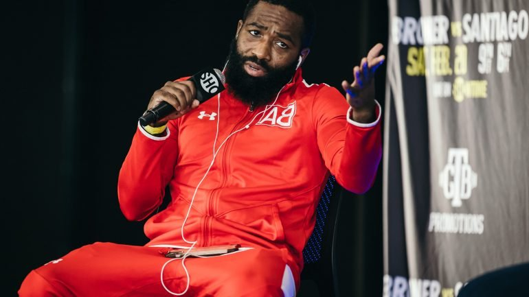 Adrien Broner is out to prove he's still a problem in the ring
