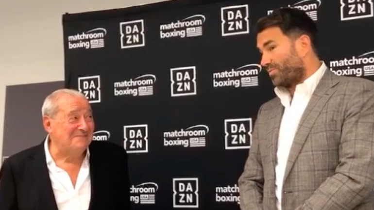 Bob Arum says ire at Hearn won't affect Fury-Joshua negotiating