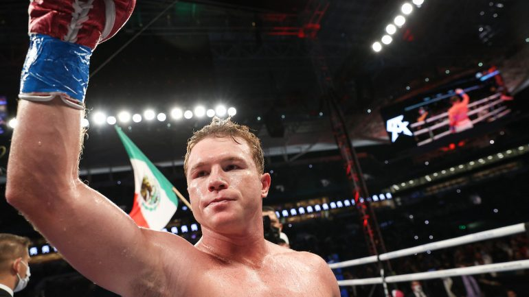 'Fighting Words' — Canelo-Saunders, COVID-19, And 70,000 Fans In A Stadium