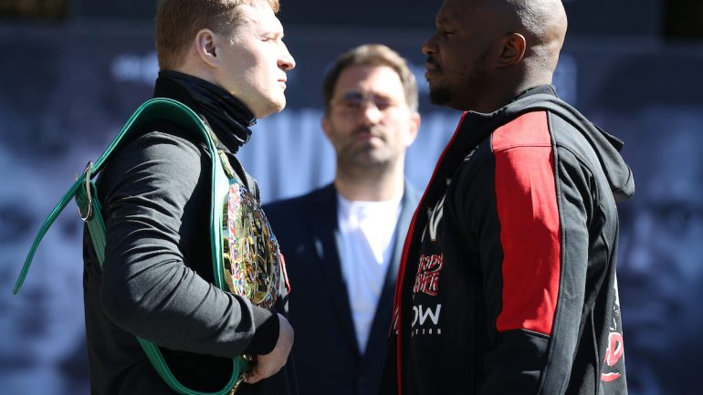 Press conference quotes: Alexander Povetkin-Dillian Whyte 2 plus undercard
