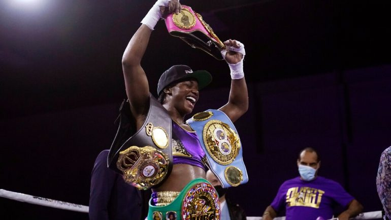 Women's Ratings update: Shields becomes Ring champ at 154, falls short on pound-for-pound supremacy