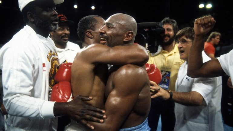 Sugar Ray Leonard: If my win over Marvin Hagler could be reversed to bring him back, I would give it away