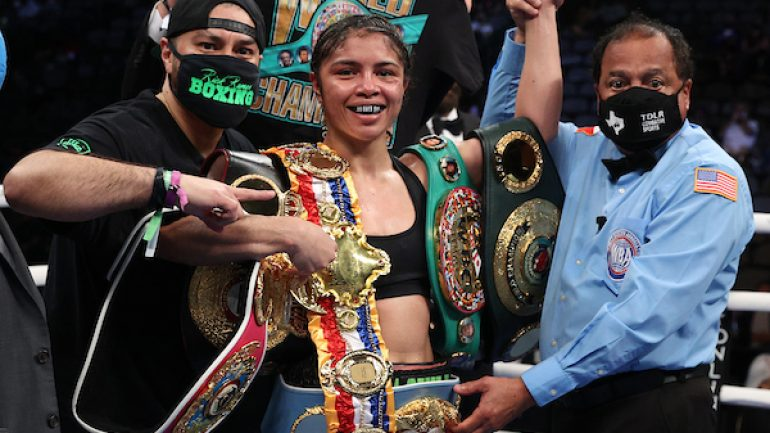 Women's Ratings update: McCaskill lifts inaugural Ring belt at 147, joins the podium at P4P
