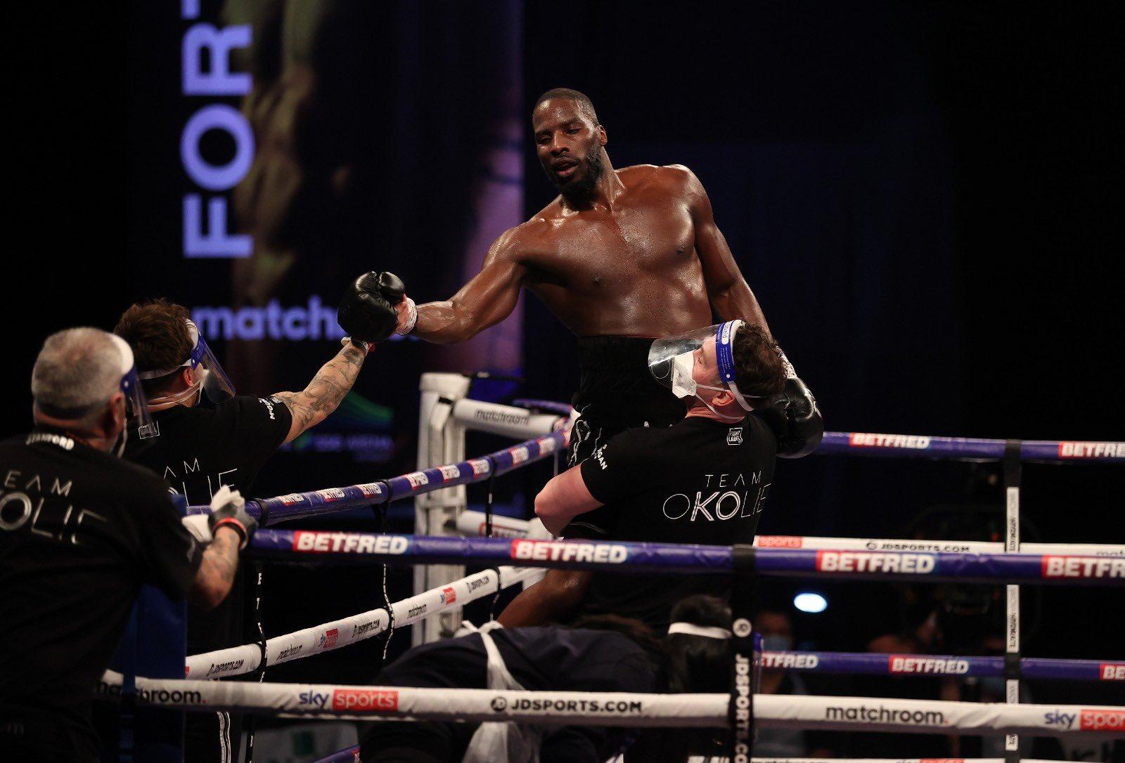 WBO cruiserweight titlist Lawrence Okolie puts focus on Dilan Prasovic before anything heavy arises