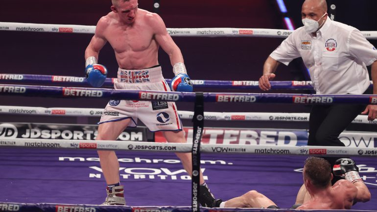 Povetkin-Whyte 2 undercard results: Cheeseman halts Metcalf in 11 rounds, Wardley KOs Molina in five