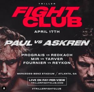 Ivan Redkach fights Regis Prograis on the April 17 Triller Fight Club event in Atlanta.
