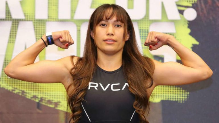 Seniesa Estrada eyes unification at 105 pounds, potential title bout at 108