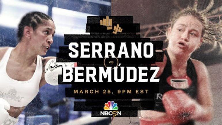 Amanda Serrano defends unified featherweight titles with KO over Daniela Bermudez