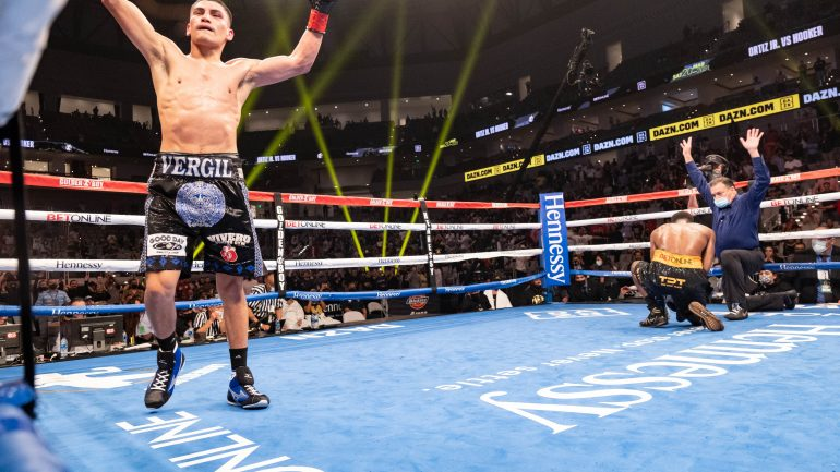 'Fighting Words' — Proud But Premature: Vergil Ortiz Calls Out Terence Crawford