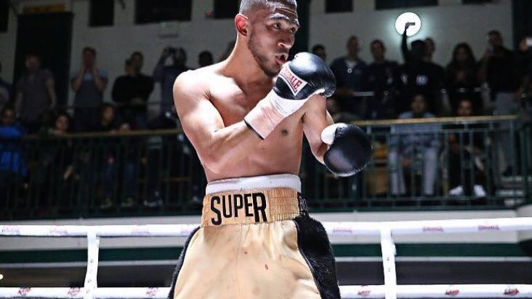 British prospect Youssef Khoumari finds inspiration in manager Dillian Whyte