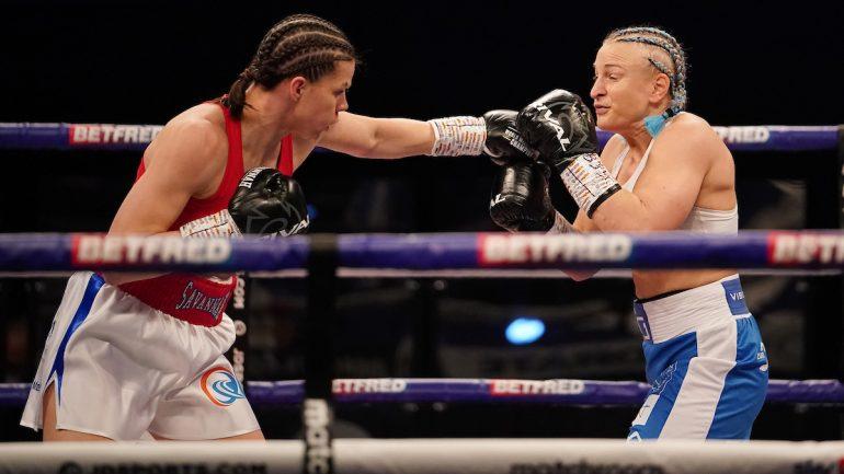 Savannah Marshall stops Maria Lindberg in three rounds, wants Claressa Shields