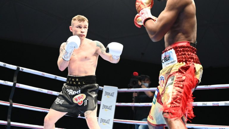 Carl Frampton says Jamel Herring fight was to be his last, regardless of outcome