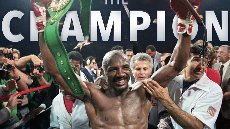 Marvelous Marvin Hagler tribute special available on Digital now