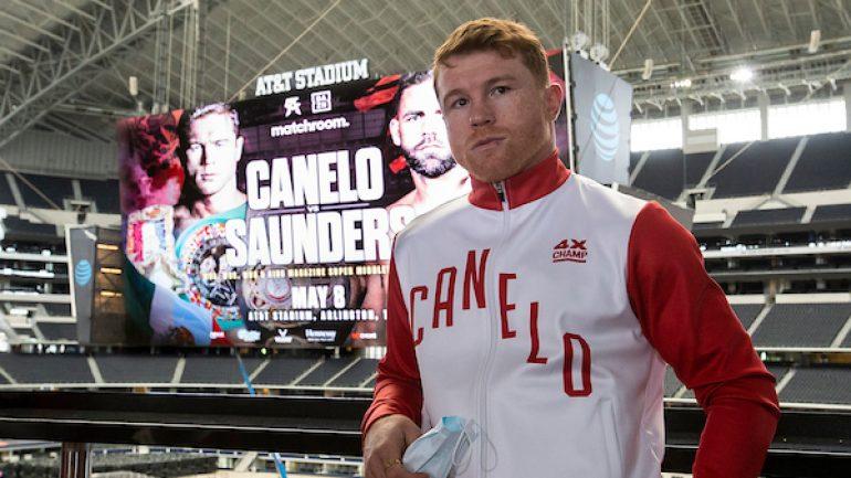 Canelo-Saunders notebook: Alvarez open to Golovkin trilogy at 168 pounds