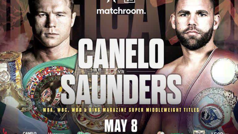 Canelo Alvarez and Billy Joe Saunders settle issue on ring size