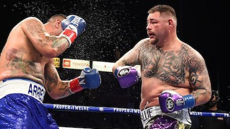 Andy Ruiz gets up once more to decision Chris Arreola