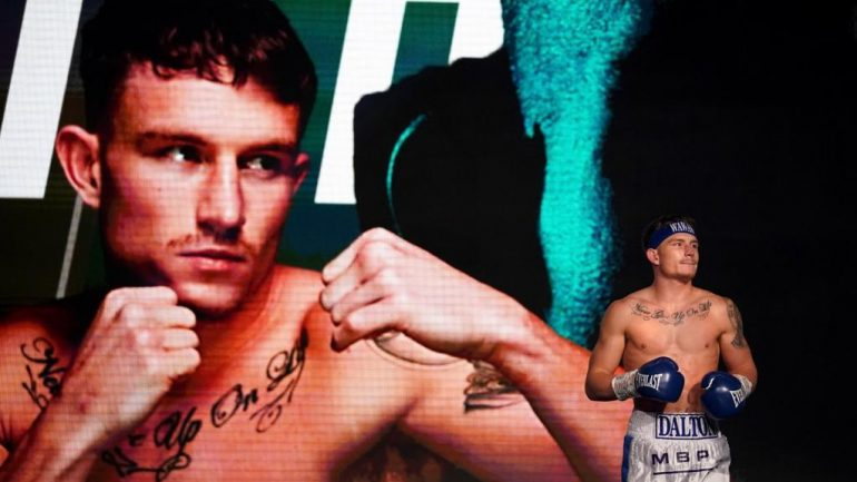 Unbeaten junior welterweight Dalton Smith signs new deal with Matchroom Boxing