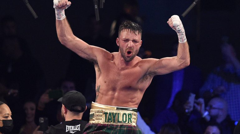 Josh Taylor: A sit-down with the King of the Junior Welterweights