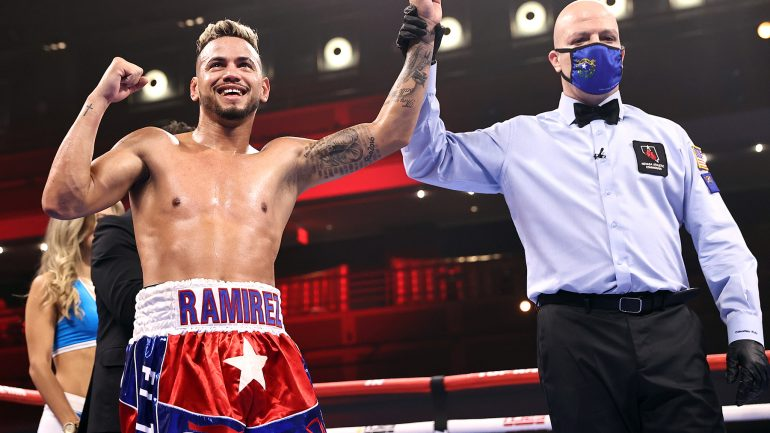 Robeisy Ramirez is out to prove that Bob Arum was right about him