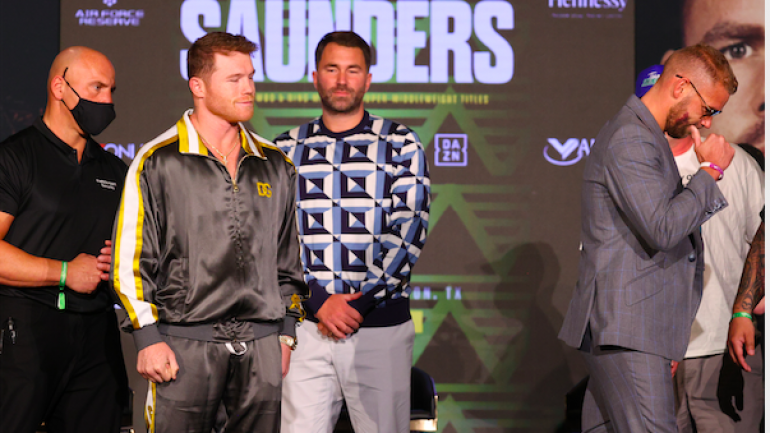 Ring size flap smoothed out, Canelo and Saunders will be in 22×22 space Saturday