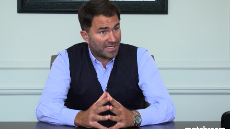 Eddie Hearn holding out hope that Joshua versus Fury can occur as planned
