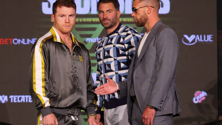 Billy Joe Saunders says he's not fighting Canelo just for a payday