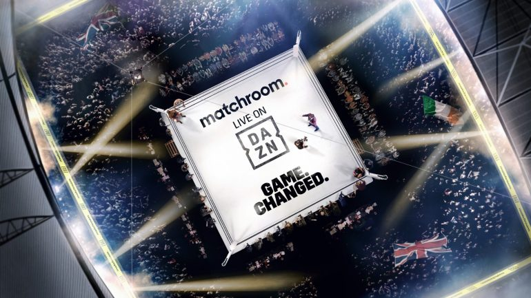 DAZN and Matchroom Boxing strike game-changing five-year global deal
