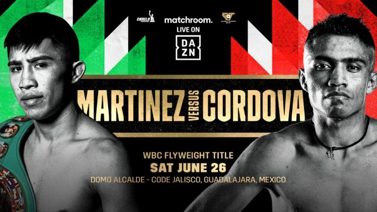 In partnership with Canelo and Eddy Reynoso, Matchroom and DAZN kick off Mexico fight series