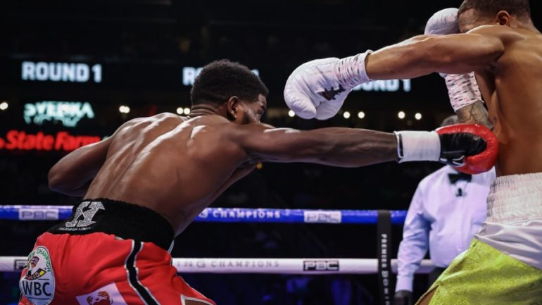 Showtime PPV undercard report: Lubin stops Rosario