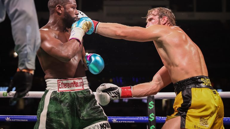 Floyd Mayweather, Logan Paul go the distance in Miami exhibition bout