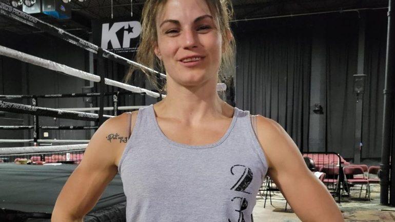 Brittney Elkin could go from bartender to spoiler in Claressa Shields' MMA debut
