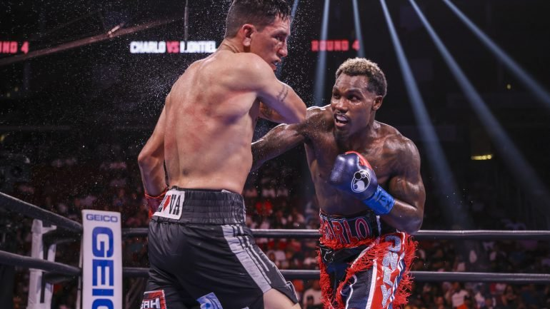 Jermall Charlo goes the distance with Juan Macias Montiel, defends WBC middleweight title