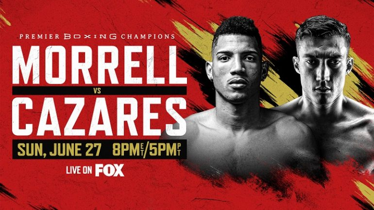 David Morrell and Mario Cazares to clash at 168, June 27, on FOX