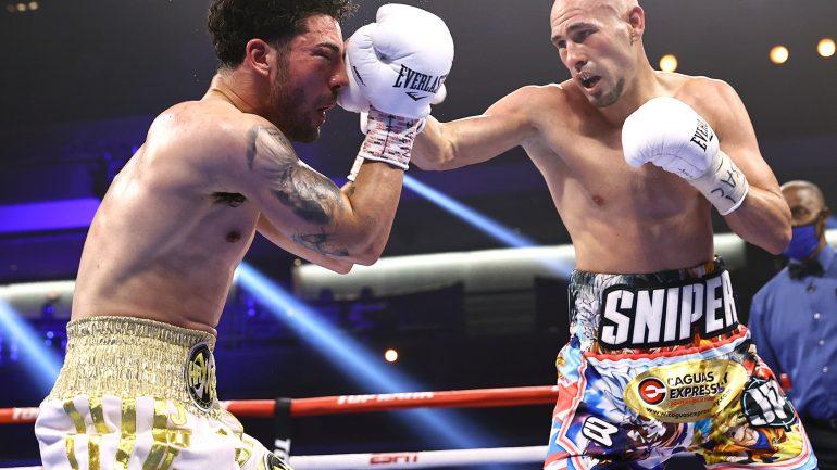 Jose Pedraza stops Julian Rodriguez in eight rounds