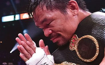 At 42, Manny Pacquiao is taking on one of the most dangerous fighters in the world