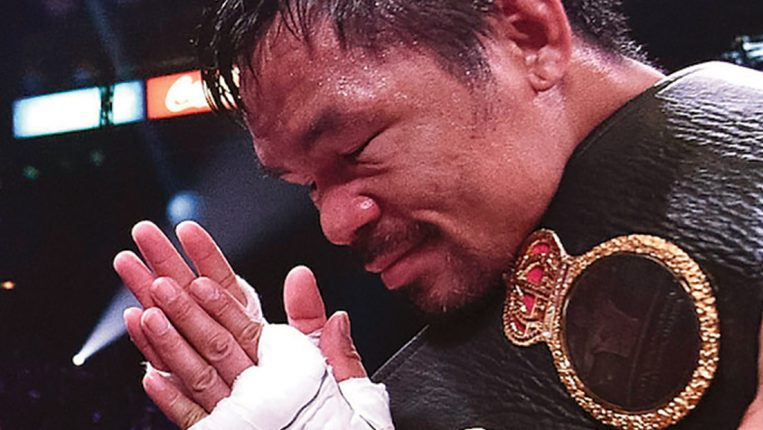 Beyond Belief At 42, Manny Pacquiao is taking on one of the most dangerous fighters in the world