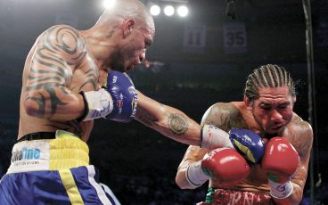 The Puerto Rican hero revisits six key fights