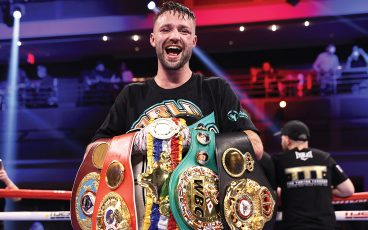 Josh Taylor is in rare company after defeating Jose Ramirez