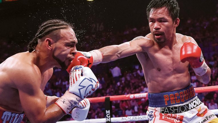 Pac-Man's Peak Performances Hall-of-Fame Trainer Freddie Roach recalls his star pupil's finest showings