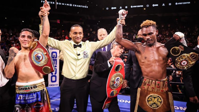 Thrilling Jermell Charlo-Brian Castano fight ends in unsatisfying draw