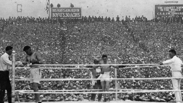 Jack Dempsey KO 4 Georges Carpentier, 100 years since the first million-dollar gate