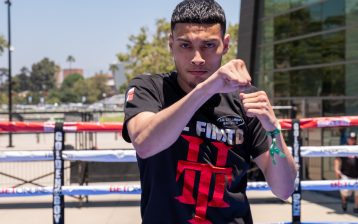 Hector Tanajara. Photo by Sye Williams / Golden Boy Promotions